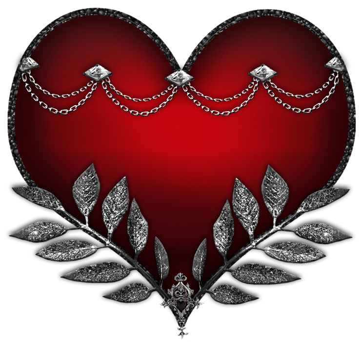Hard heart clipart jpg black and white library Hard Rock Style Heart Clipart   Gallery Yopriceville - High-Quality ... jpg black and white library