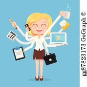 Hard working clipart picture black and white Hard Work Clip Art - Royalty Free - GoGraph picture black and white