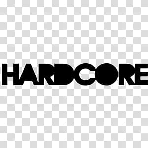 Hardcore clipart graphic black and white download Doodles and drawings I, Hardcore logo transparent background PNG ... graphic black and white download