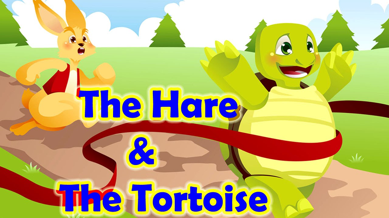 Hare and the tortoise clipart image free library The Hare and The Tortoise Story | Animated Stories For Kids | By ASC Kids image free library