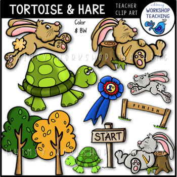 Hare and the tortoise clipart royalty free The Tortoise and the Hare Clip Art royalty free