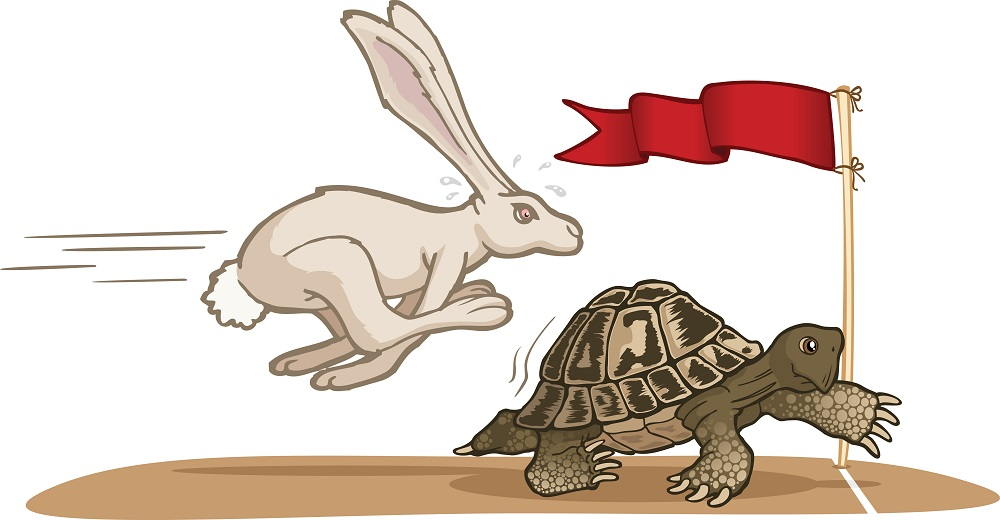 Hare and the tortoise clipart jpg library download A Short Story On Hare and Tortoise - Simple Essay Writing jpg library download