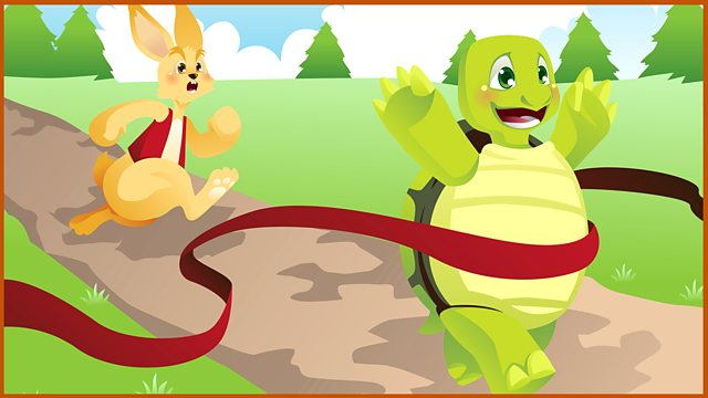 Hare and the tortoise clipart jpg School Radio - Audio stories, The Hare and the Tortoise jpg