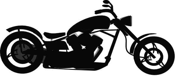 Harley clipart black and white image black and white download Harley davidson motorcycle clipart black and white - ClipartFest image black and white download