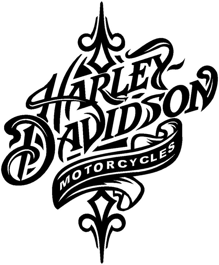Harley clipart black and white jpg library stock Harley davidson clipart - ClipartFest jpg library stock