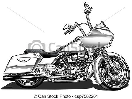 Harley clipart black and white vector library download Harley Clip Art and Stock Illustrations. 321 Harley EPS ... vector library download