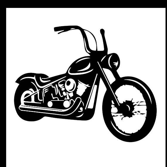 Harley davidson clipart black jpg royalty free Harley davidson clipart black and white 2 » Clipart Station jpg royalty free