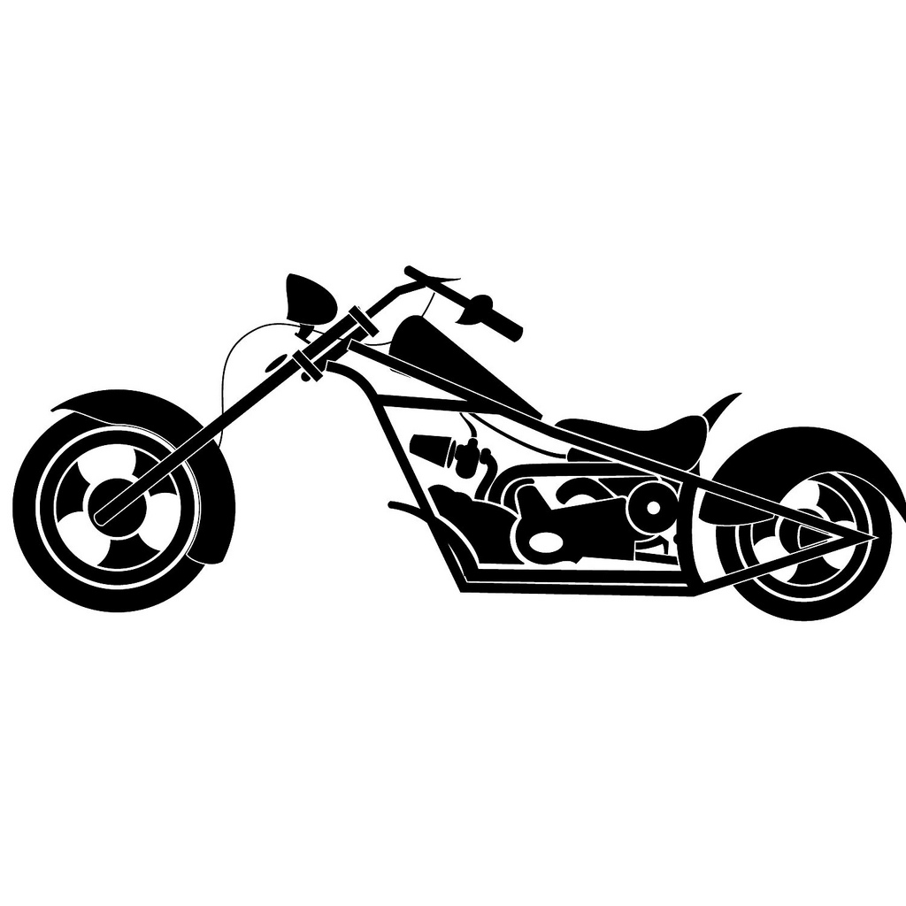 Harley davidson clipart silhouette graphic royalty free Harley Davidson Cliparts - Cliparts and Others Art Inspiration graphic royalty free