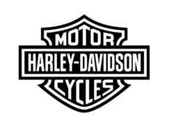 Harley davidson logo clipart clip art transparent library Harley davidson logo black and white clipart - ClipartFest clip art transparent library