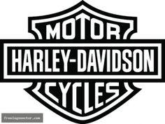 Harley davidson logo clipart svg black and white stock 17 Best images about Harley Davidson Silhouette | Coloring, Clip ... svg black and white stock