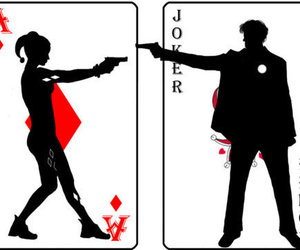 Harley quinn and joker clipart graphic download 1000+ images about ♥Joker and Harley Quinn♥ on We Heart It   See ... graphic download