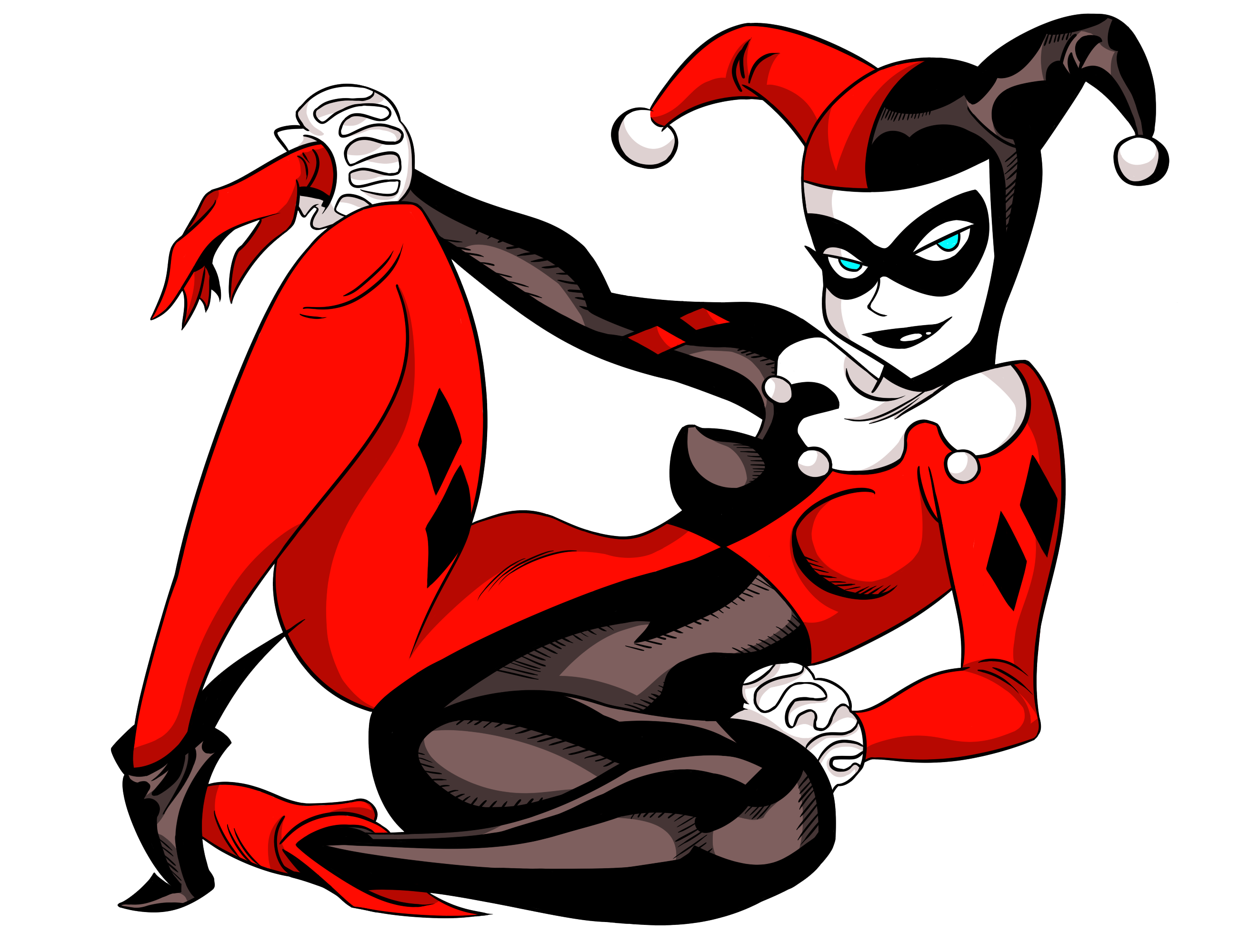 Harley quinn and joker clipart graphic library stock Harley Quinn PNG Transparent Images   Free Download Clip Art ... graphic library stock