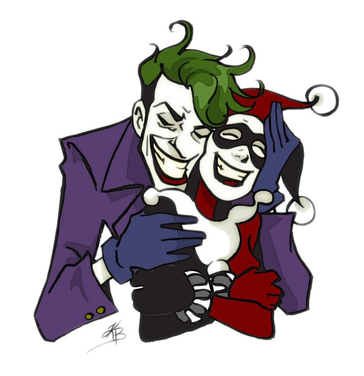 Harley quinn and joker clipart graphic free library 17 Best images about HARLEY & JOKER on Pinterest   Mad love ... graphic free library