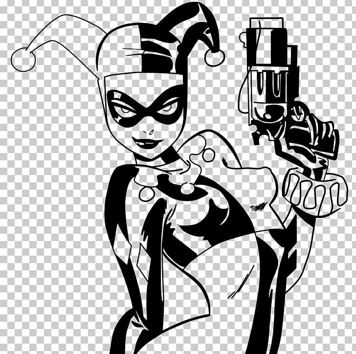 Harley quinn and joker clipart black and white graphic transparent download Harley Quinn Catwoman Batman Joker Comics PNG, Clipart, Arm, Art ... graphic transparent download