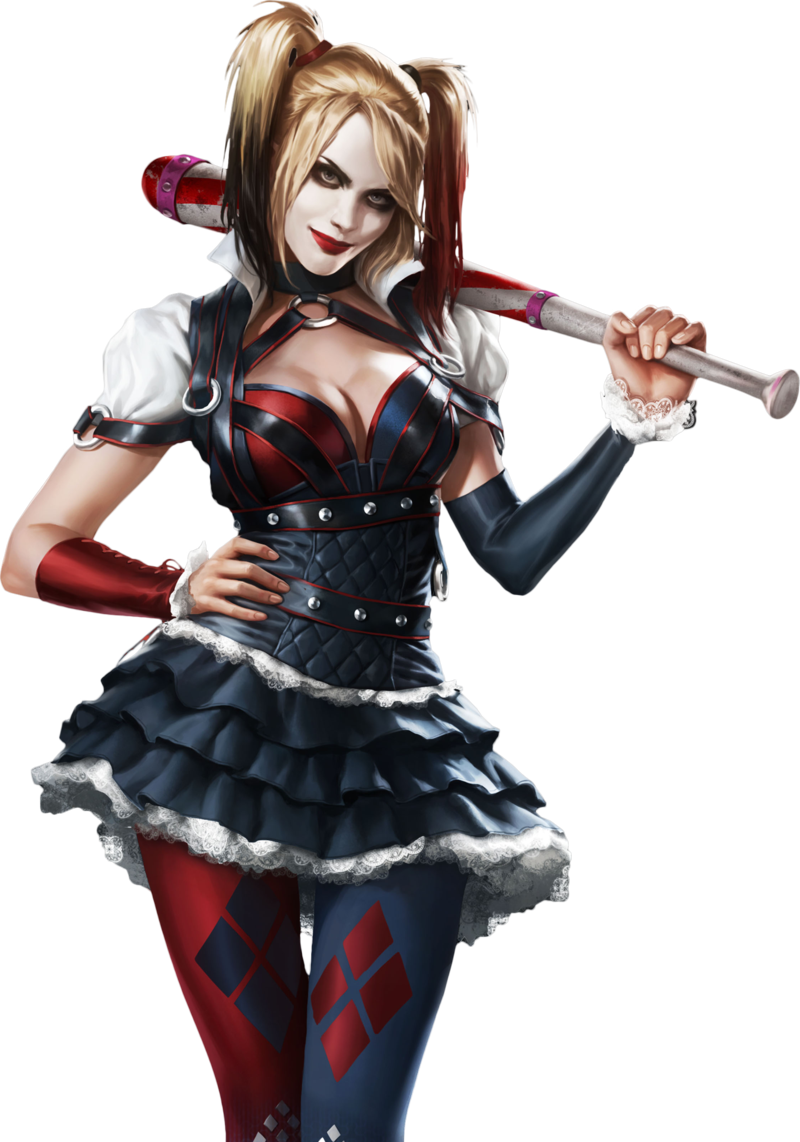 Harley quinn arkham city clipart vector transparent Clipart of harley quinn - ClipartFest vector transparent