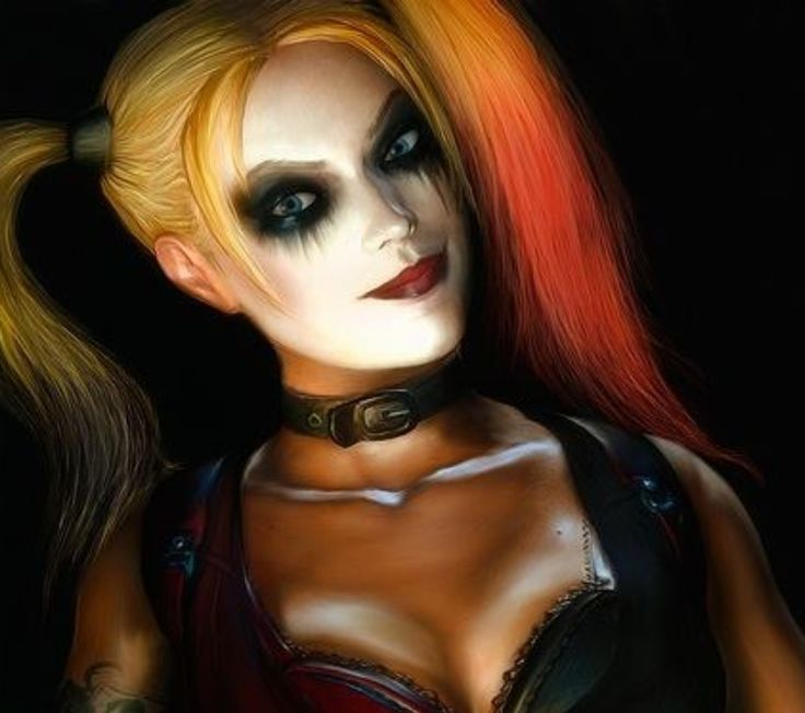 Harley quinn arkham city clipart clip freeuse download Harley Quinn | Choker, The games and Revenge clip freeuse download