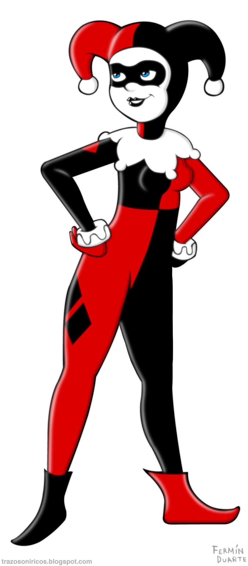 Harley quinn clipart hd royalty free download Harley Quinn by trazosoniricos on DeviantArt royalty free download