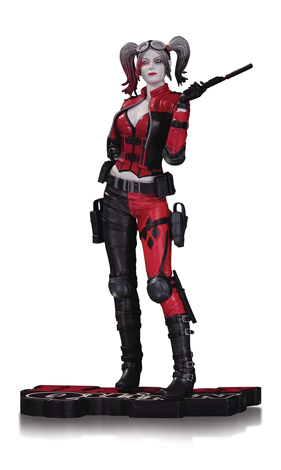 Harley quinn injustice clipart png free stock DC Collectibles Harley Quinn Injustice 2 Statue, Black/White/Red png free stock