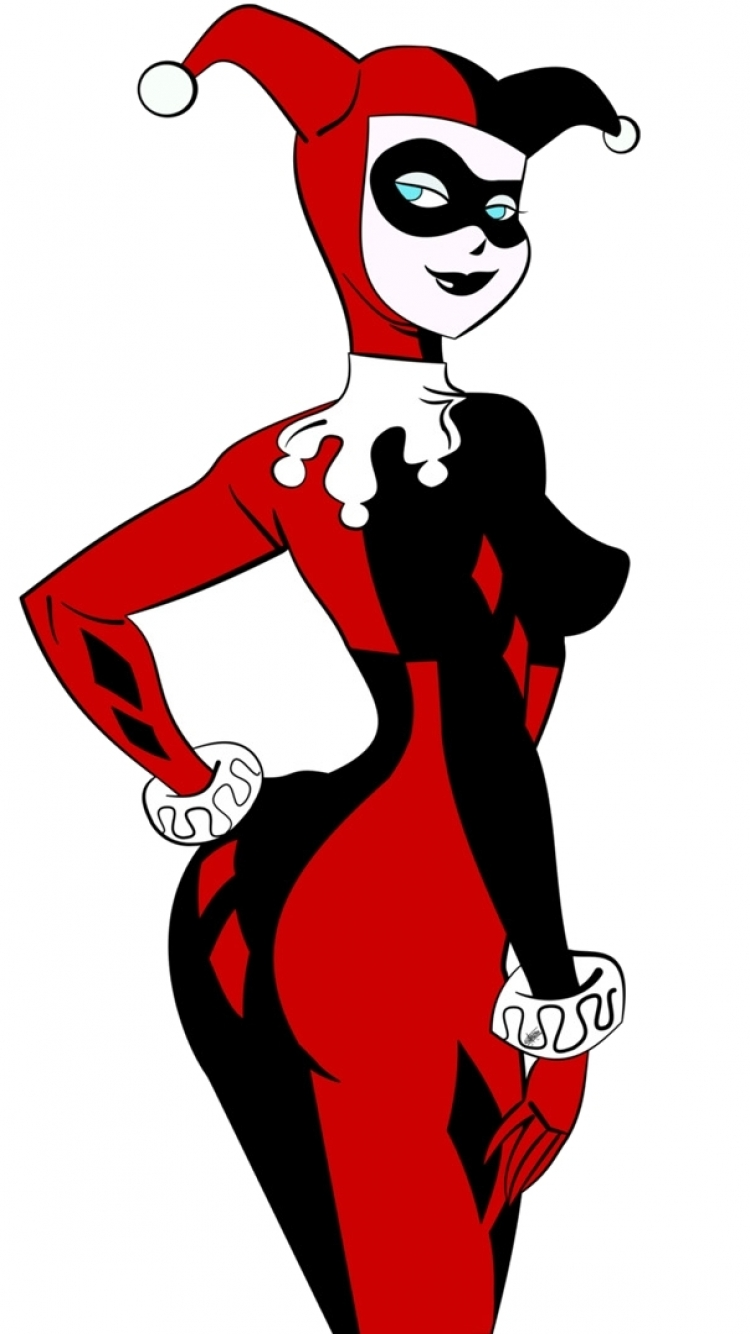 Harley quinn iphone clipart clipart black and white download Harley Quinn - Apple/iPhone 6 - 750x1334 - 75 Wallpapers clipart black and white download