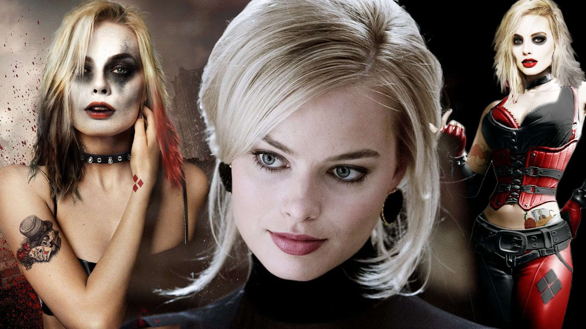 Harley quinn margot robbie clipart freeuse stock Harley Quinn Suicide Squad Wallpapers - WallpaperSafari freeuse stock