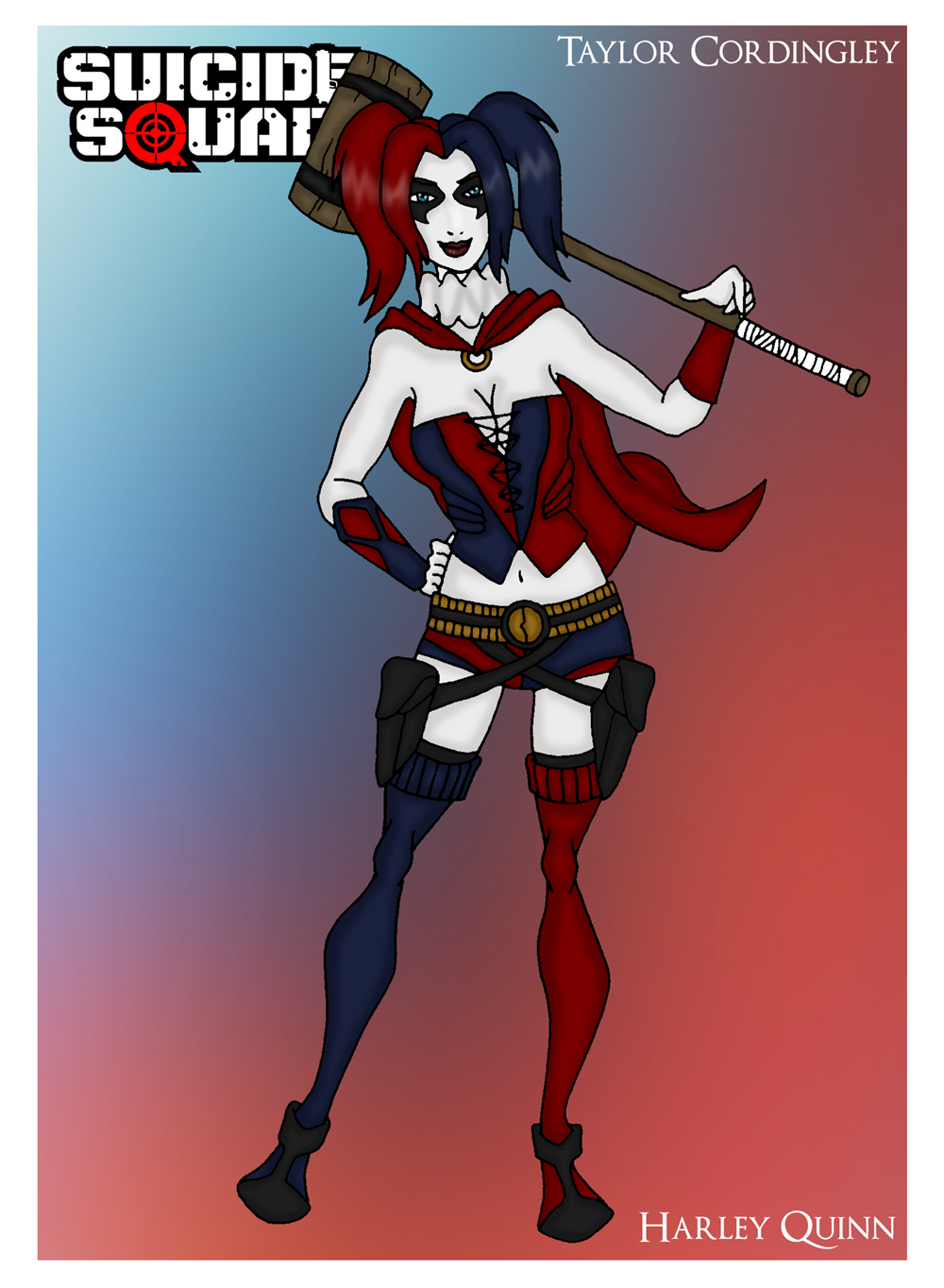 Harley quinn new 52 clipart banner royalty free library Harley Quinn - The New 52 Version by Femmes-Fatales on DeviantArt banner royalty free library
