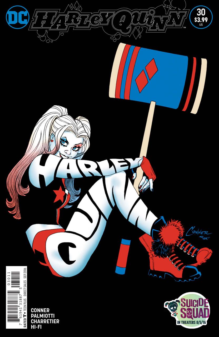 Harley quinn new 52 clipart banner transparent stock Harley Quinn (Volume) - Comic Vine banner transparent stock