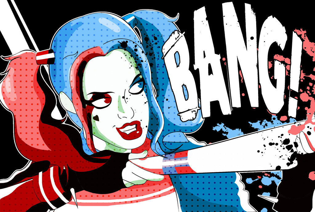 Harley quinn suicid squad clipart banner black and white download Suicide Squad- Harley Quinn by xeternalflamebryx on DeviantArt banner black and white download