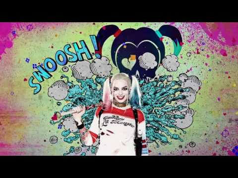 Harley quinn suicide squad clipart vector transparent library Suicide Squad - Harley Quinn Promo Clip [HD] - YouTube vector transparent library