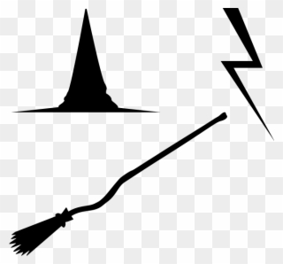 Harry potter broom clipart black and white royalty free library Vectors Pattern Harrypotter Feb2017 Try01 - Harry Potter Broom ... royalty free library