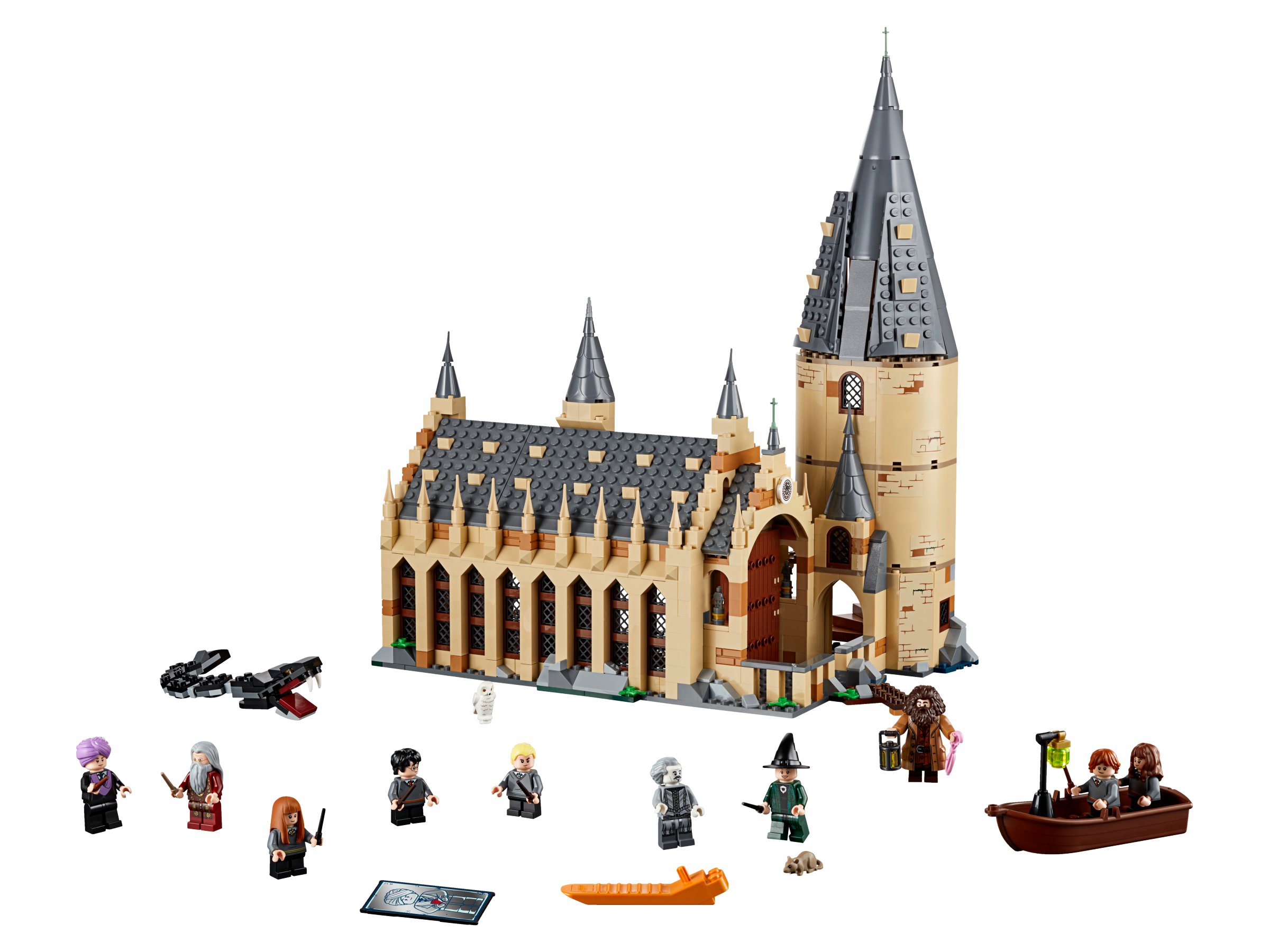 Harry potter building clipart clipart black and white Lego Harry Potter Hogwarts School of Witchcraft and Wizardry Lego ... clipart black and white