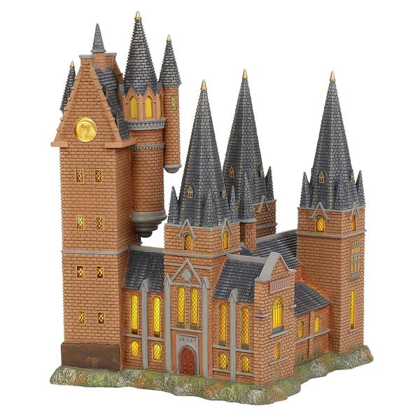Harry potter building clipart clip free library Department 56 Harry Potter Village Hogwarts Astronomy Tower Lit Building clip free library