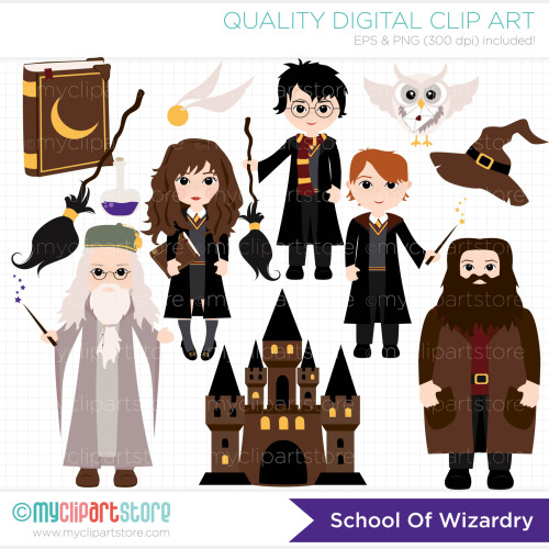Harry potter character clipart jpg royalty free library Harry potter characters clipart - ClipartFest jpg royalty free library