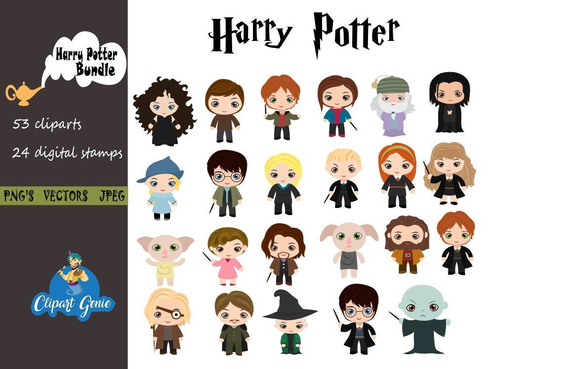 Harry potter clipart images graphic black and white Harry Potter Clipart – Free Clipart Images graphic black and white