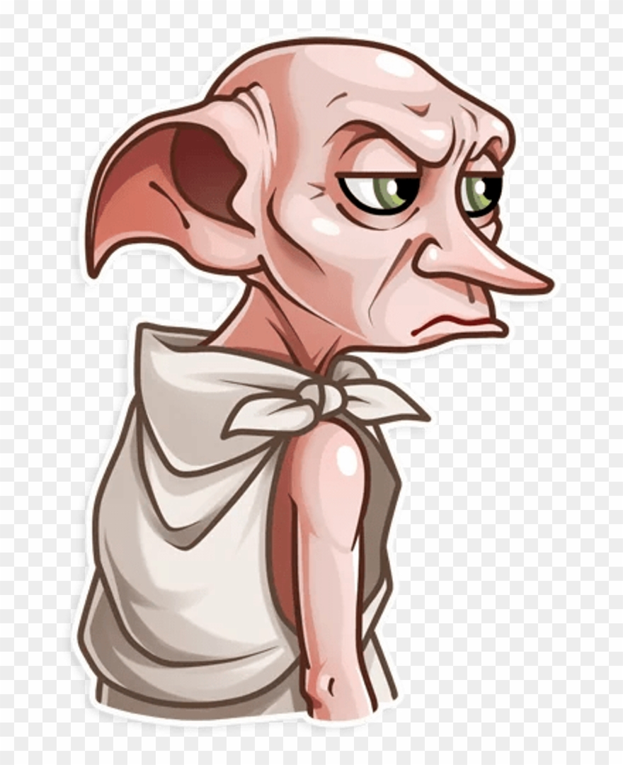 Harry potter dobby clipart jpg free download Harrypotter Dobby Sticker Harry Potter Clipart (#2884125) - PinClipart jpg free download