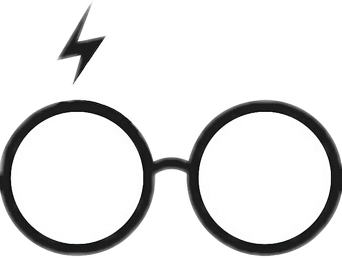 Harry potter glasses and scar clipart jpg Glasses Clip art Harry Potter (Literary Series) Image Openclipart ... jpg