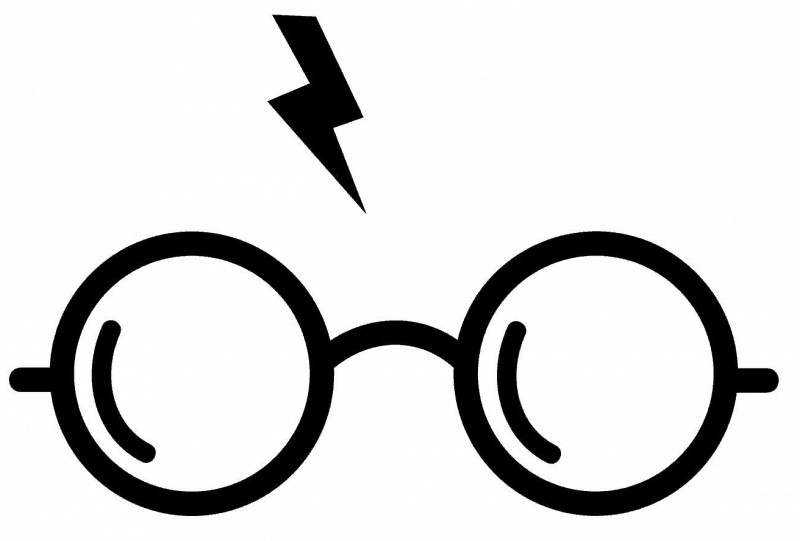 Harry potter glasses and scar clipart graphic royalty free library New Harry Potter Glasses Clipart Banner Clipart – Kunr.me graphic royalty free library