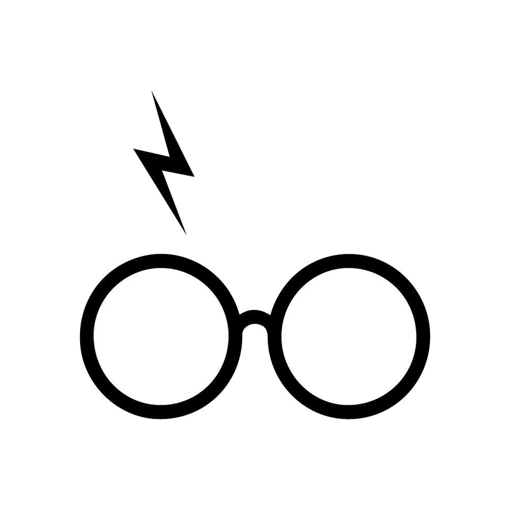 Harry potter glasses and scar clipart image royalty free download Harry Potter Glasses And Scar Clipart Transparent Png 2 - AZPng image royalty free download