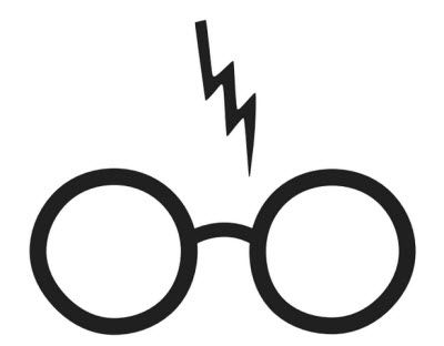 Harry potter glasses and scar clipart jpg free Harry potter clip art free | Handmade cards | Harry potter symbols ... jpg free