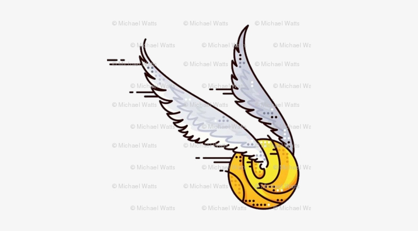 Harry potter golden snitch clipart png royalty free stock The Golden Snitch Back - Harry Potter Quidditch Clipart - Free ... png royalty free stock