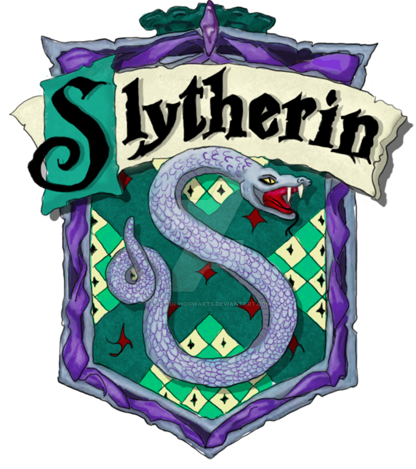 Harry potter house clipart clipart black and white download Slytherin Print by Lost-in-Hogwarts on DeviantArt clipart black and white download