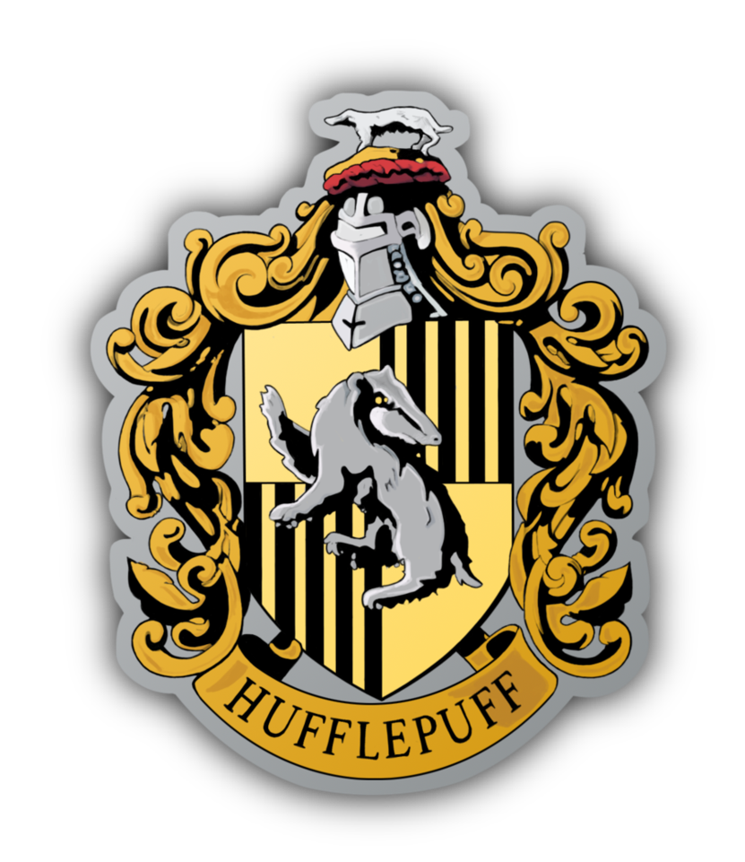 Harry potter house clipart clip royalty free library Yes I am a Hufflepuff. Go ahead and make fun of me. I'll just go cry ... clip royalty free library