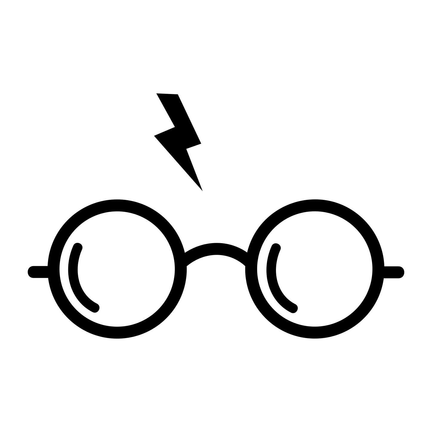 Harry potter scarf clipart black and white clip free library Pin by Kelly Smith on Bathroom | Harry potter glasses, Harry potter ... clip free library