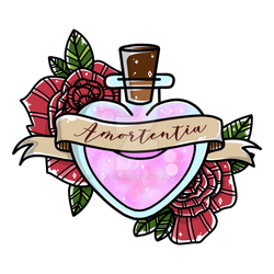 Harry potter love clipart svg black and white stock Harry Potter Love Potion Amortentia by lulubeeart on DeviantArt svg black and white stock