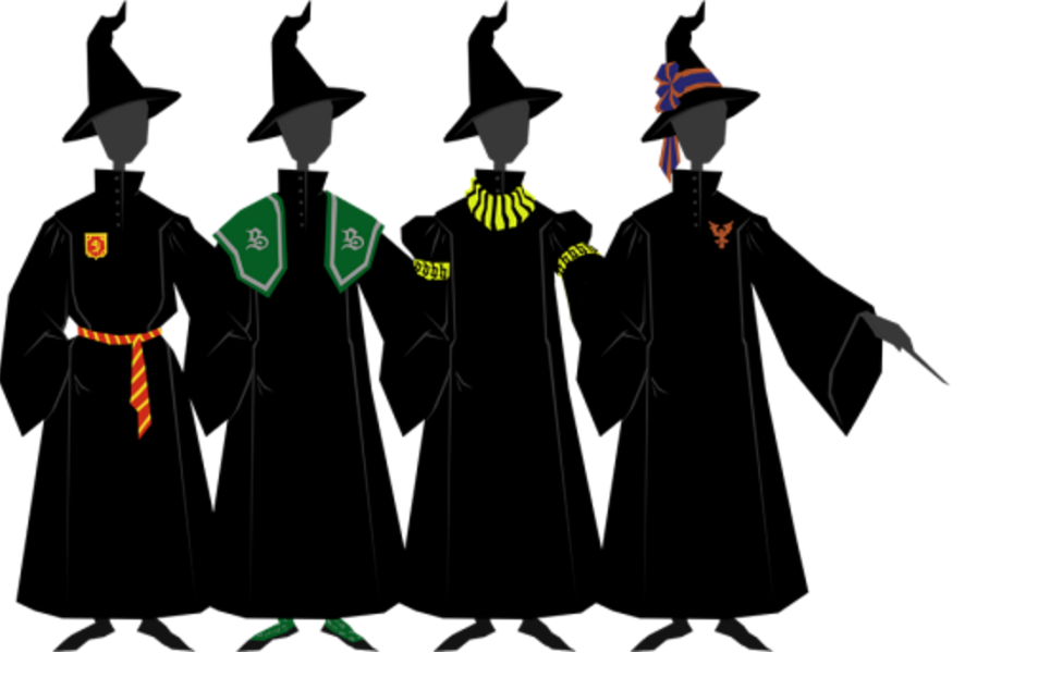 Harry potter robe clipart transparent download Harry Potter\' fan details why the robes in the movies are all wrong ... transparent download
