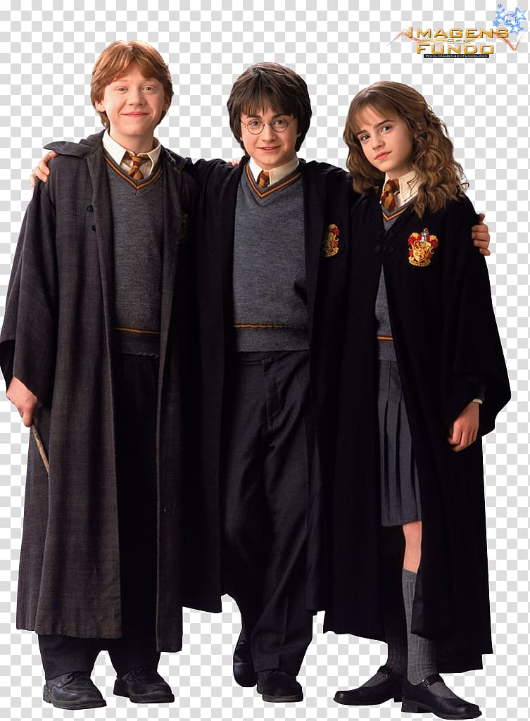 Harry potter robe clipart clip art royalty free library Harry Potter, Hermione Granger, and Ron Weasley, Robe Hermione ... clip art royalty free library