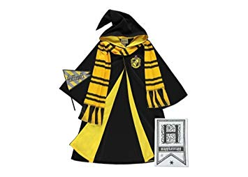 Harry potter robe clipart vector freeuse Officially Licensed Harry Potter fancy dress Hogwarts HUFFLEPUFF ... vector freeuse