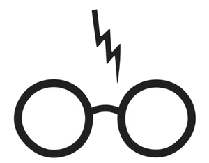 Harry potter scarf clipart black and white banner royalty free stock Harry Potter Clip Art PNG Transparent - AZPng banner royalty free stock