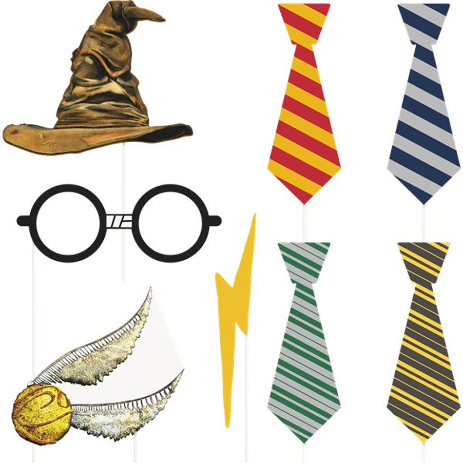 Harry potter tie clipart download Easter Photo Booth Kit of 10pcs by Unique 62668 | Karnival Costumes download