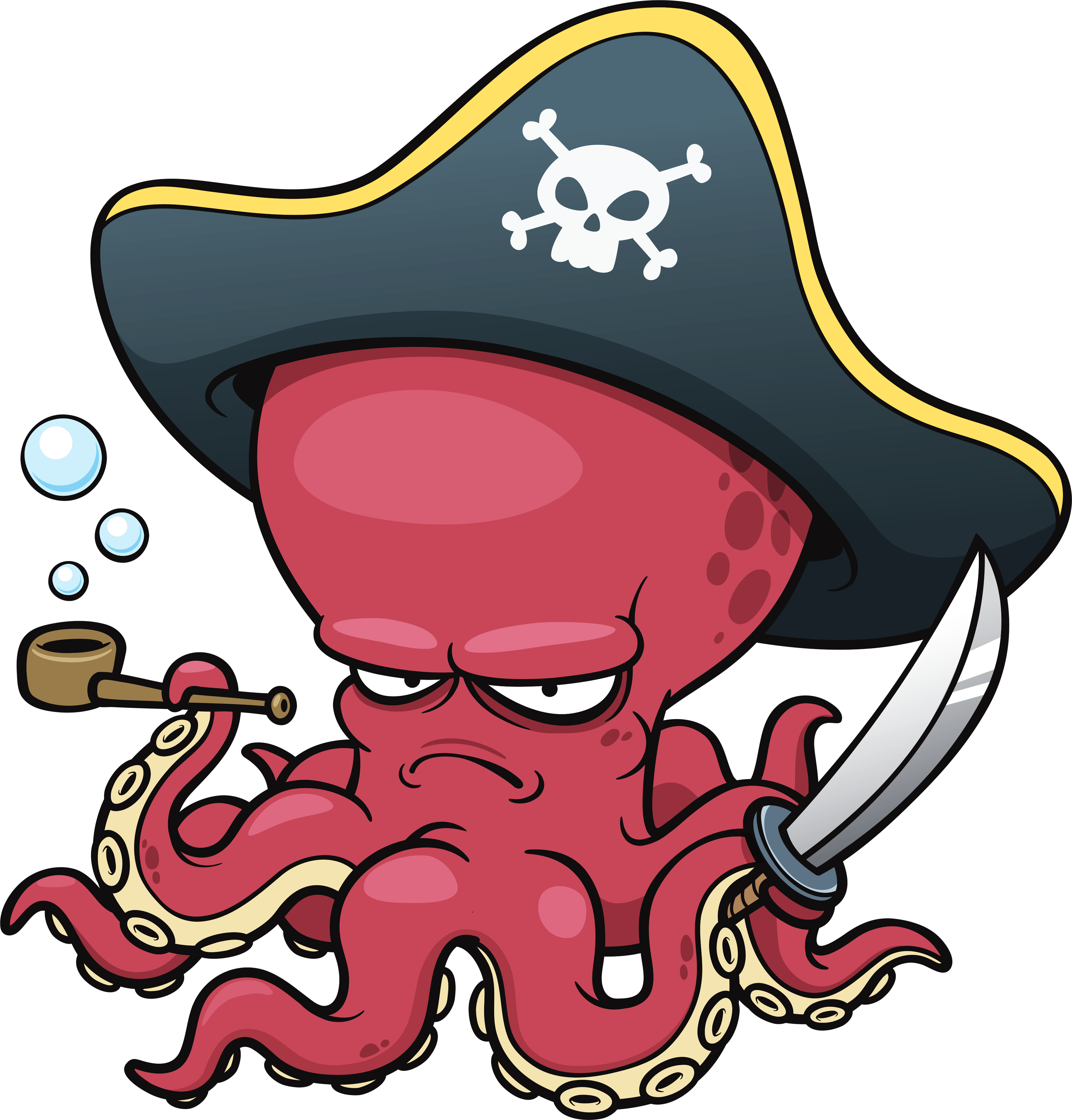 Harry the dirty dog clipart clip black and white stock Octopus Pirate! | The Art of Funky | Pinterest | Characters ... clip black and white stock
