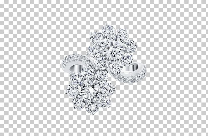 Harry winston clipart png transparent stock Earring Diamond Harry Winston PNG, Clipart, Black And White, Body ... png transparent stock